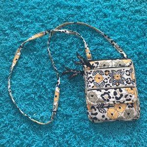 Vera Bradley cross-body purse